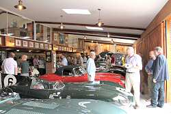 Goodwood Road Racing Club members visit the museum in 2011