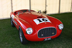 The Abbott bodied Ferrrai Barchetta as it is today