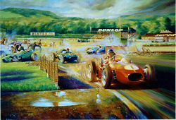 39 mike hawthorn golden boy it has to be the best for Garage jean behra