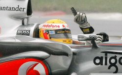 Lewis Hamilton World Champion 2008