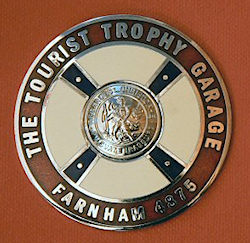 Ouyr TT Garage Badge